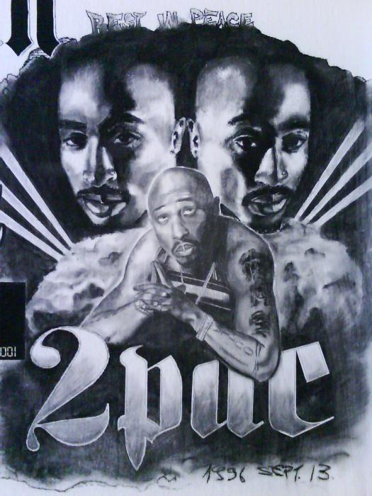 Tupac by csino